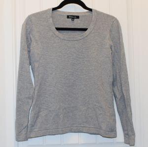 Dalia Crew Neck Gray Sweater